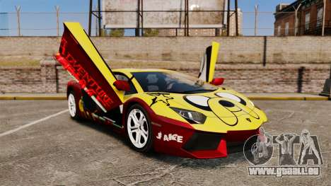 Lamborghini Aventador LP700-4 2012 [EPM] Jake pour GTA 4 vue de dessus