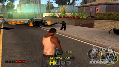 C-HUD Vagos by Hugo für GTA San Andreas her Screenshot