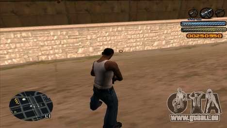 C-HUD Light pour GTA San Andreas troisième écran
