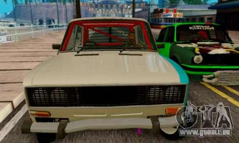 VAZ 2106 Crampes pour GTA San Andreas vue de côté