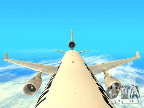 McDonnell Douglas MD-11 Continental Airlines für GTA San Andreas Innenansicht