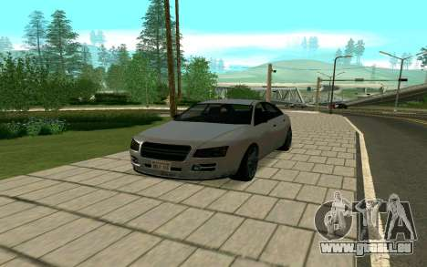 GTA V Obey Tailgater pour GTA San Andreas