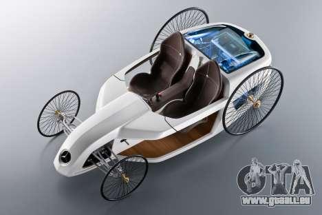 Boot-screens Mercedes-Benz F-CELL Roadster für GTA 4 siebten Screenshot