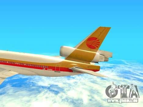 McDonnell Douglas MD-11 Continental Airlines für GTA San Andreas Seitenansicht
