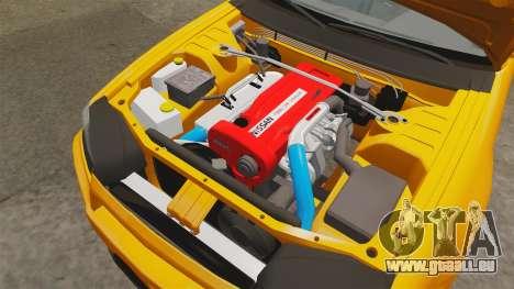 Nissan Skyline ER34 GT-R pour GTA 4 est une vue de l'intérieur