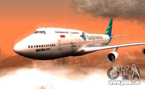Boeing 747-400 Garuda Indonesia für GTA San Andreas