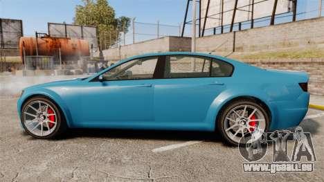 GTA V Cheval Fugitive new wheels pour GTA 4 est une gauche