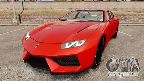 Lamborghini Estoque Concept 2008 pour GTA 4