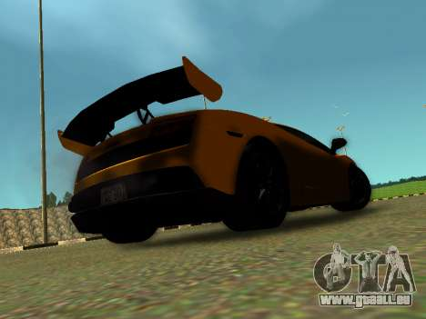 Lamborghini Gallardo Super Trofeo Stradale pour GTA San Andreas laissé vue