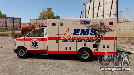 Brute Ambulance v2.1-SH für GTA 4 linke Ansicht