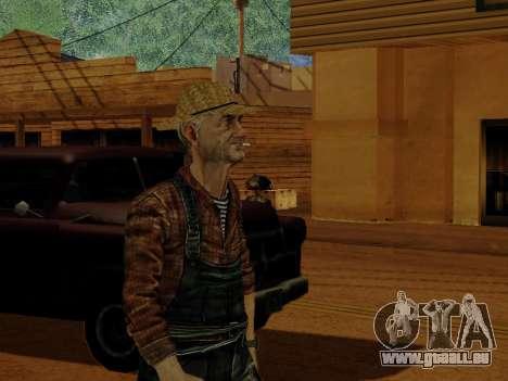 Agriculteur ou modifiée et complétée pour GTA San Andreas huitième écran