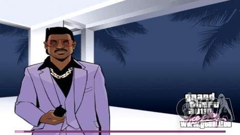 Les écrans de démarrage avec la version PS2 pour GTA Vice City
