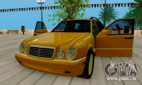 Mercedes-Benz E320 Wagon für GTA San Andreas Seitenansicht