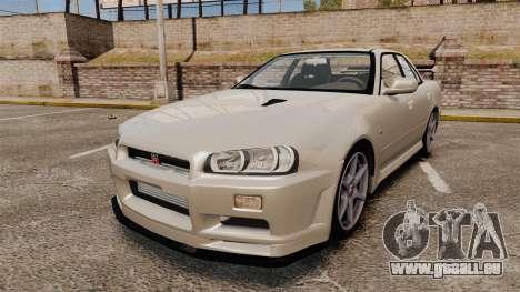 Nissan Skyline ER34 GT-R pour GTA 4