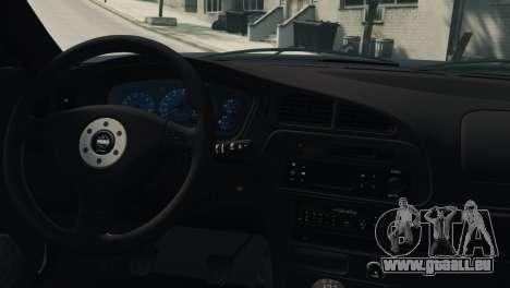 Mitsubishi Galant8 VR-4 pour GTA 4 est un droit