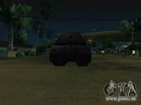 PzKpfw VII Maus pour GTA San Andreas vue de droite