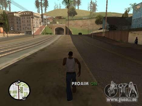ProAim pour GTA San Andreas