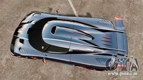 Koenigsegg One:1 für GTA 4 rechte Ansicht