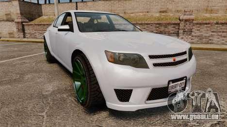 GTA V Cheval Fugitive new wheels für GTA 4