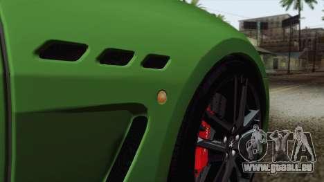 Maserati GranTurismo MC Stradale für GTA San Andreas Innen
