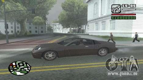 Weather Menu pour GTA San Andreas sixième écran