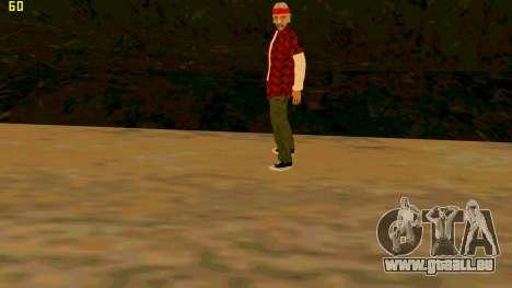 La nouvelle texture de la Vérité pour GTA San Andreas troisième écran