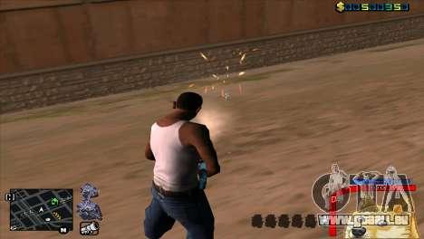 C-HUD Chien WOW pour GTA San Andreas quatrième écran