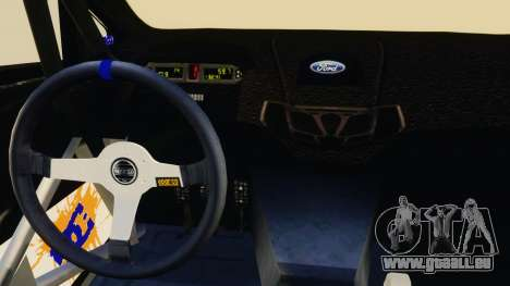 Ford Fiesta 2013 für GTA 4 Innenansicht