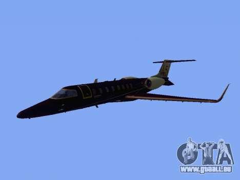 Bombardier Learjet 45 für GTA San Andreas linke Ansicht