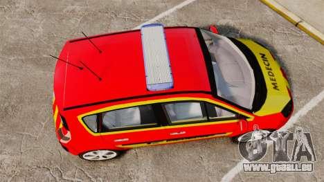 Renault Scenic Medicin v2.0 [ELS] für GTA 4 rechte Ansicht
