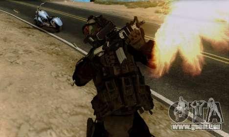 Kopassus Skin 2 pour GTA San Andreas troisième écran