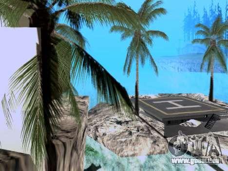 Nouvelle île V2.0 pour GTA San Andreas deuxième écran