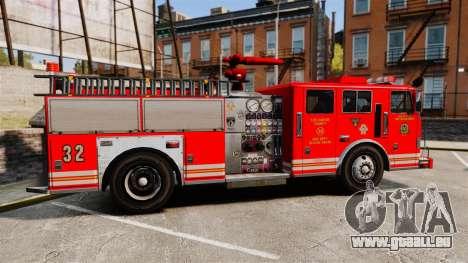 Fire Truck v1.4A LSFD [ELS] pour GTA 4 est une gauche