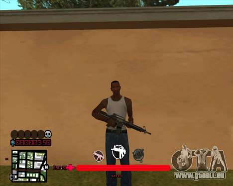 C-HUD aurait Mario_Nostra pour GTA San Andreas