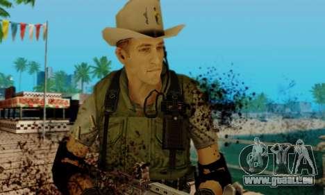 Resident Evil Apocalypse S.T.A.R.S. Sniper Skin pour GTA San Andreas cinquième écran
