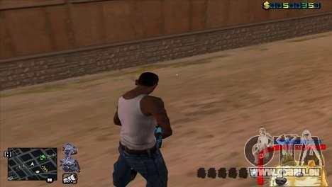 C-HUD Hund WOW für GTA San Andreas zweiten Screenshot