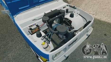 Wartburg 353w Deluxe Hungarian Police pour GTA 4 Vue arrière
