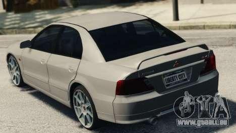 Mitsubishi Galant8 VR-4 pour GTA 4 est une gauche