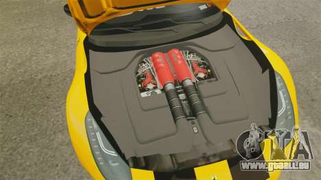 Ferrari F12 Berlinetta 2013 [EPM] Black bars pour GTA 4 est une vue de l'intérieur