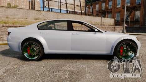 GTA V Cheval Fugitive new wheels für GTA 4 linke Ansicht