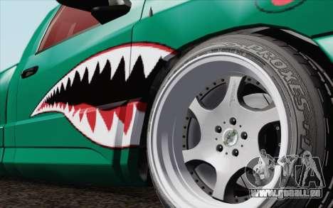 Dodge Ram SRT10 Shark pour GTA San Andreas sur la vue arrière gauche