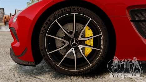 Mercedes-Benz SLS 2014 AMG GT Final Edition pour GTA 4 Vue arrière
