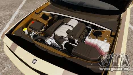 Dodge Challenger SRT8 2009 [EPM] APB Reloaded pour GTA 4 est une vue de l'intérieur