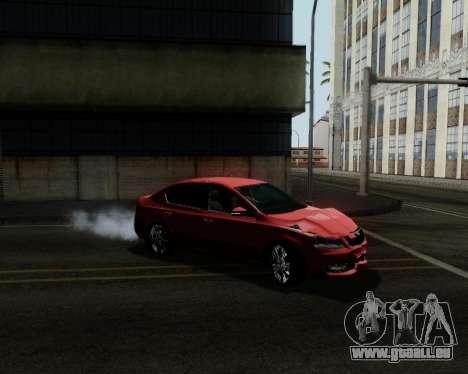 Skoda Octavia A7 pour GTA San Andreas roue
