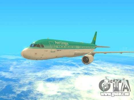Airbus A320-200 Aer Lingus pour GTA San Andreas