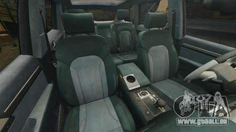 Audi Q7 Hungarian Police [ELS] pour GTA 4 est un côté