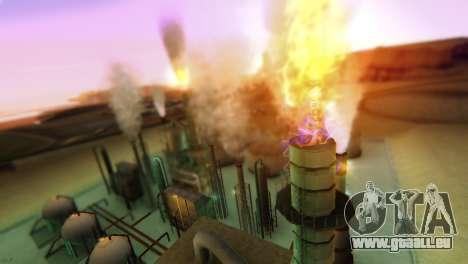 SA_extend. v1.1 pour GTA San Andreas quatrième écran