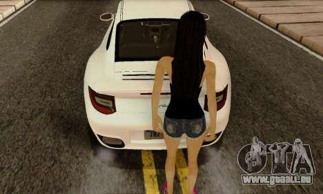 Jack Daniels Girl Skin pour GTA San Andreas troisième écran