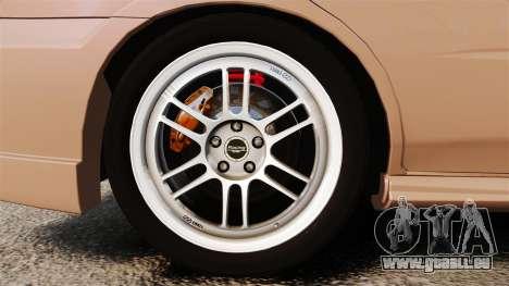 Subaru Impreza WRX STI 2004 pour GTA 4 Vue arrière