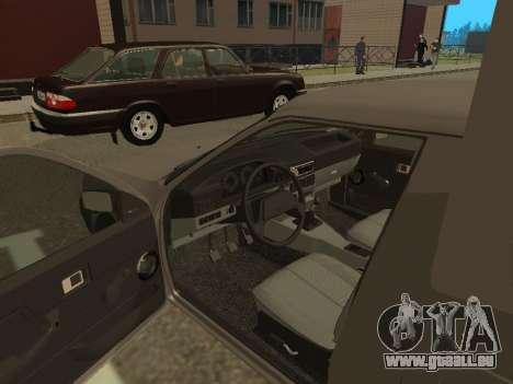 IZH 2717-90 pour GTA San Andreas vue arrière